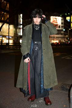 Japan Fashion, Look Fashion, Fashion Outfits, Fashion Design, Mens Fashion, Street Style Vintage, Mode Vintage, Hipster Grunge, Grunge Goth
