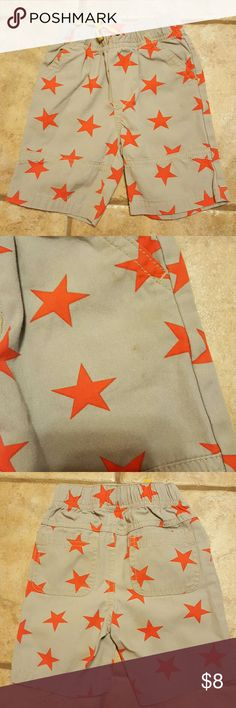 Mini Boden star Boarders 18 -24months. Mini Boden Star Boarders Shorts . Has a few small stains on front as shown Mini Boden Bottoms Shorts