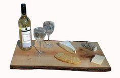 Eco-Friendly Wedding Gift Ideas:  Reclaimed Live Edge Serving boards and Bread Boards.  URBAN TREE SALVAGE live edge serving platters are decorative boards perfect for entertaining guests. These solid wood serving trays are great as wine and cheese boards, sushi boards and are great for serving hors d'oeuvres and drinks.