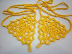 Neon Yellow  Barefoot Sandals  foot jewelryLadies Nude by anils, $15.00