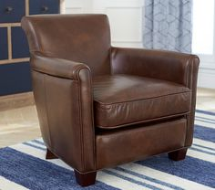 Monique Lhuillier Mini Leather Irving Chair