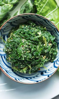 Turn tough chard leaves tender by giving them a light pounding, then dress them in this light sesame-flavored vinaigrette. It's the perfect side to Amy Thielen's Japan-meets-Midwest tonkatsu burger. Veggie Dishes, Vegetable Recipes, Vegetarian Recipes, Cooking Recipes, Healthy Recipes, Side Dishes, Swiss Chard Salad, Soy Sauce, Gastronomia