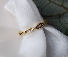 interesting and not gaudy gold wedding band
