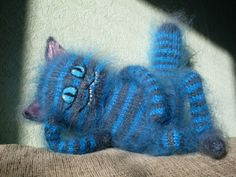 Чеширский кот Cheshire Cat by ToyMakerFeihyevoe on Etsy