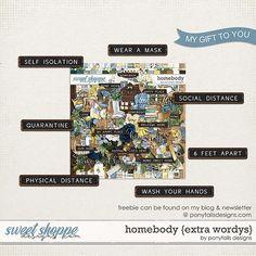 Homebody • Ponytails Digital Designs