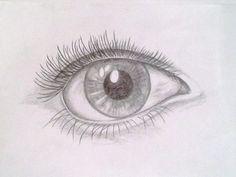 oko-realistická kresba/ eye- realistic drawing