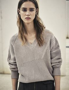 AllSaints Women's March Lookbook Look 5: The Meller Jumper #Marchlookbook