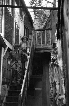 Henri Cartier-Bresson - Annette and Alberto Giacometti, Paris, 1946