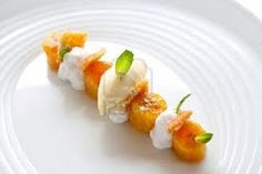modern dessert