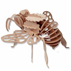 3-D Wooden Puzzle - Bumble Bee