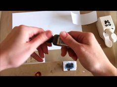 Foil Embellishments ~ Metallic Mini Rose