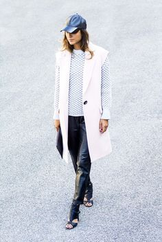 d7de1663ab8ca This Olivia Palermo-Approved Trend is Perfect for Fall · Duster VestVest  JacketSleeveless ...