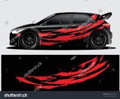 Weird Cars, Rally Car, Car Wrap, Car Decals, Custom Cars, Concept Cars, Super Cars, Vector Stock, Airbrush