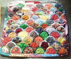 3 Quilts Wall Hanging Kit Handmade Vintage Patch work