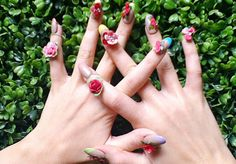 The top 10 beauty trends of 2012: 3D nail art http://beautyeditor.ca/2012/12/28/the-top-10-beauty-trends-of-2012-and-5-more-to-watch-for-in-2013/