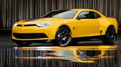 awesome Chevrolet Camaro Bumblebee Wallpaper