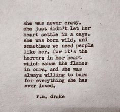 Wild woman at heart...