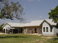 Located just a little north of Blanco is 7.22 acres with an almost new 3 bedroom 2.5 bath home.