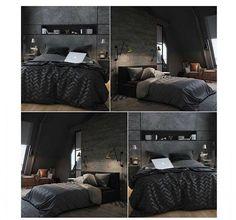 Minimalist new bedroom