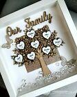 Family tree Box Frame Scrabble Gift. Birthday Gift For Family Grandparents | eBay Christmas Birthday, 50th Birthday, Birthday Gifts, Christmas Gifts, Scrabble Frame, Scrabble Art, Personalised Family Tree, Personalised Box, Family Tree Frame
