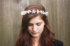 Image result for daisy crown