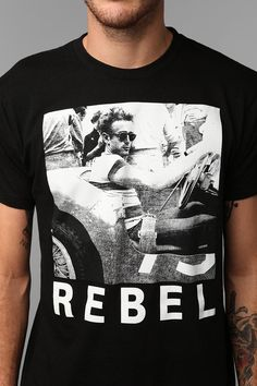 Rebel Tee why couldn't they have this for ladies??