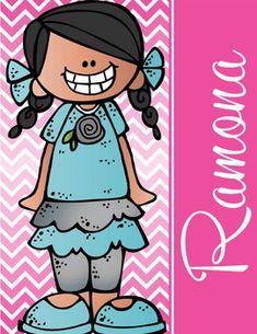 the BRAINY BUNCH - GIRLS - Student Binder Covers - hispani