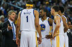 Steve Kerr with Golden State Warriors