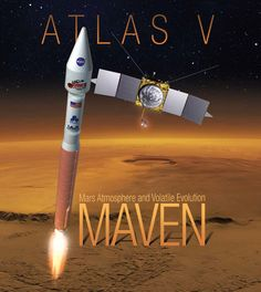 5,4,3,2,1 - we have lift off Atlas V with MAVEN MARS mission  http://www.aerospaceguide.net/mars/maven.html #space #nasa