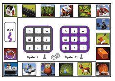 letterbingo vll kern 4 tm 7.pdf Back 2 School, Bingo, Spelling, Literacy, Homeschool, Teaching, Kids, Young Children, Boys