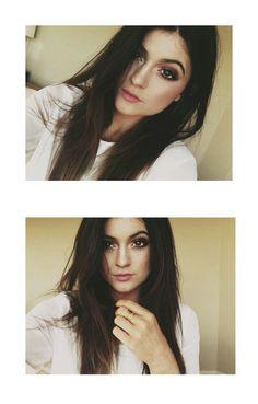 Kylie Jenners eyeshadow looks nice here