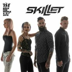 US Christian rock band Skillet will play Rock For People Festival 2018