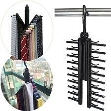 360 Degree Rotatable Adjustable Belt Hanger Tie Rack Scarf Holder  Http://www.