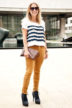 OMG stripes & ruffles combined!!!! yes.