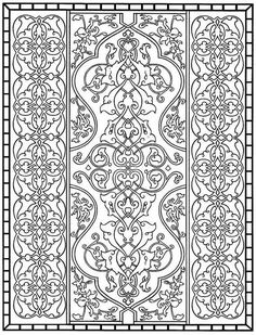 Make your world more colorful with free printable coloring pages from italks. Our free coloring pages for adults and kids. Cool Coloring Pages, Printable Coloring Pages, Adult Coloring Pages, Coloring Sheets, Coloring Books, Pattern Art, Color Patterns, Motif Oriental, Whole Cloth Quilts
