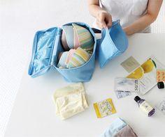バッグインバッグ ランジェリーバッグ 衣類や小物を手軽に収納!