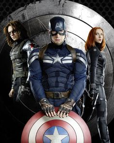 CAPTAIN AMERICA: THE WINTER SOLDIER - Empire Magazine Cover