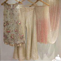Pakistani Dress Designer Inspired Short Shirt by KaamdaniCouture