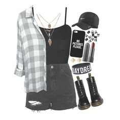 """""""Untitled #237"""" by legitris ❤ liked on Polyvore featuring moda, WearAll, Topshop, Dr. Martens, Casetify, NIKE e H&M"""