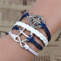 Infinity Love Charm Bracelet - Betty Abyssinia