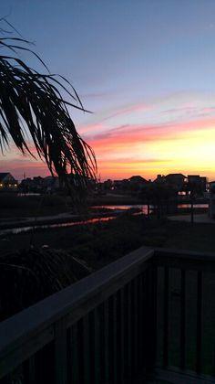 Sunsets in Galveston