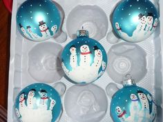 Fingerprint Christmas Ornaments | Christmas fingerprint Ornaments My little guy and I made them last ...