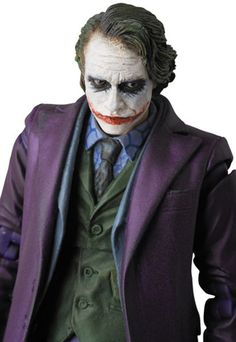 Dark Knight Joker Action Figure is Very Serious