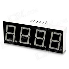 4-Digit 12-Pin Display Module for Arduino (Works with Official Arduino Boards). Model N/A Quantity 1 Color Black Material PCB Features Displaying numbers Application Great for DIY project Packing List 1 x 4 digits display module. Tags: #Electrical #Tools #Arduino #SCM #Supplies #Displays