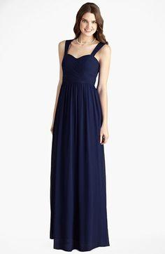 Donna Morgan 'Bailey' Shirred Chiffon Gown | Nordstrom