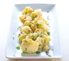 Sicilian cauliflower. Recipe by Megan Reiger of @wholefoods.