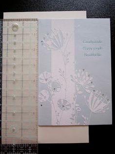The Creative Cubby: Wedding Card Book Wedding Card Book, Wedding Cards, Got Married, Getting Married, Cubbies, Creative, Books, Wedding Ecards, Livros