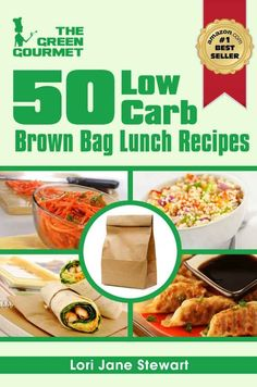 Low Carb Recipes - 50 Low carb lunches #keto #lchf #lowcarbs #diet #recipes