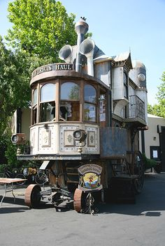 Steampunk mobile home!
