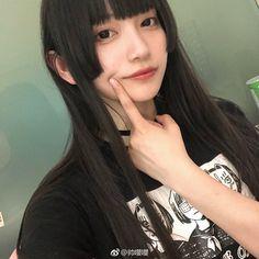 My Hairstyle, Pretty Hairstyles, Poses, Beautiful Japanese Girl, Japan Girl, Long Hair Cuts, Cute Asian Girls, Ulzzang Girl, Pretty People